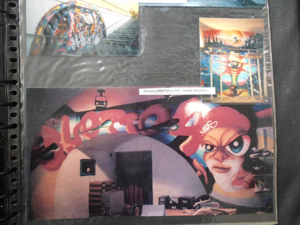 SKATESHOP GHETTO 4 / GRAFFITI 1995