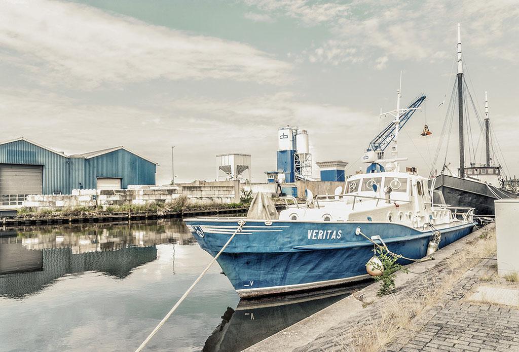 Industrie-Hafen in Schagen Nord-Holland