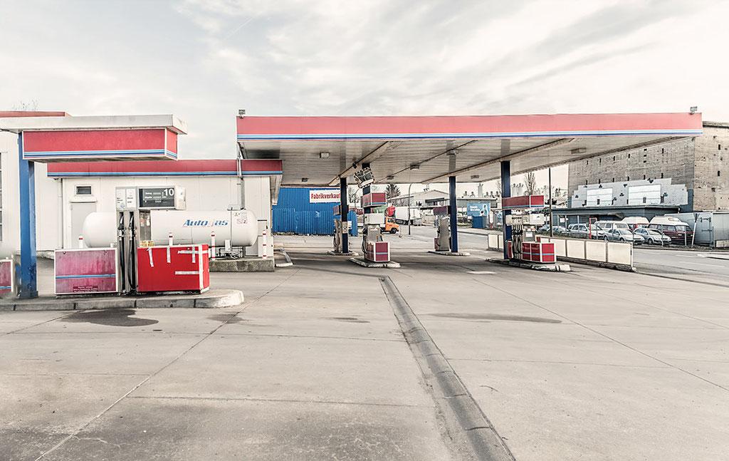 Alte Tankstelle im Dortmunder Norden