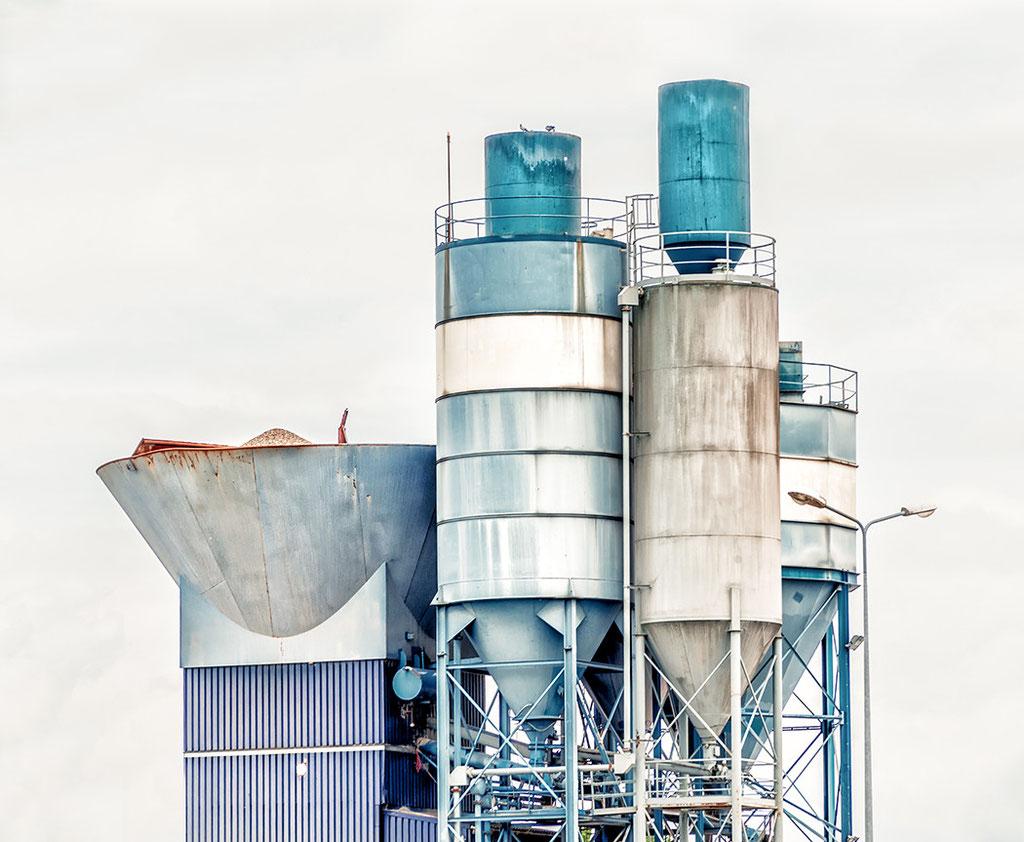 Industrieanlage in Roermond  Holland