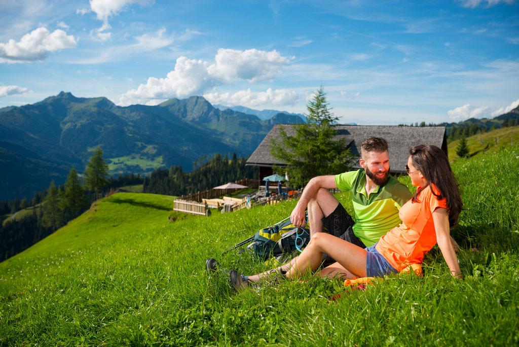 Blick auf die hohen Tauern - © www.grossarltal.info