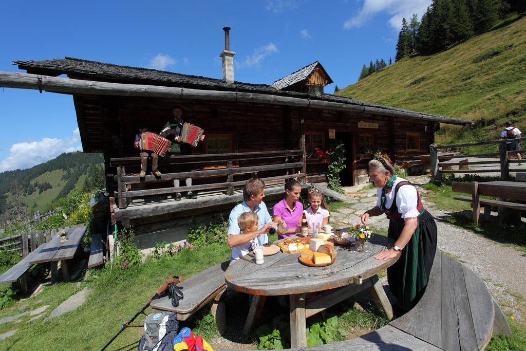 Tal der Almen Grossarltal - hier auf der Maurachalm © www.grossarltal.info