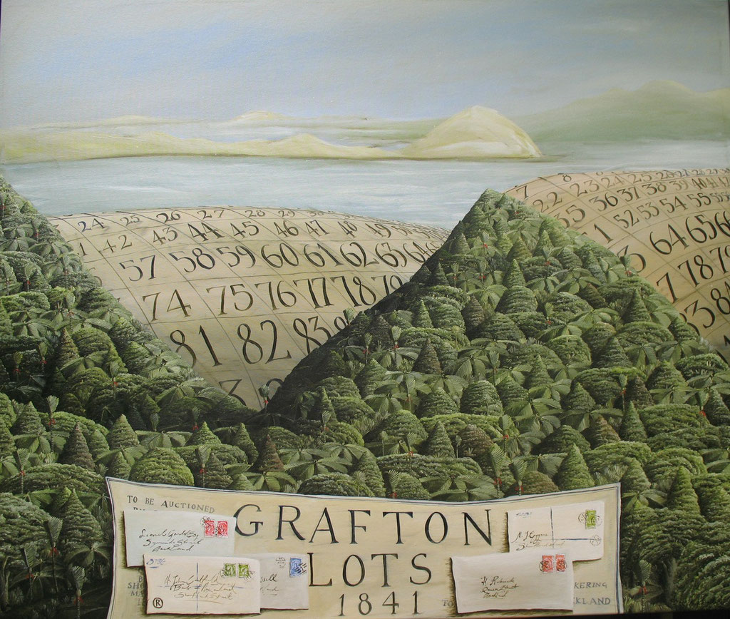 'Grafton Lots 1841'1000x1200mm,Oil on canvas. SOLD