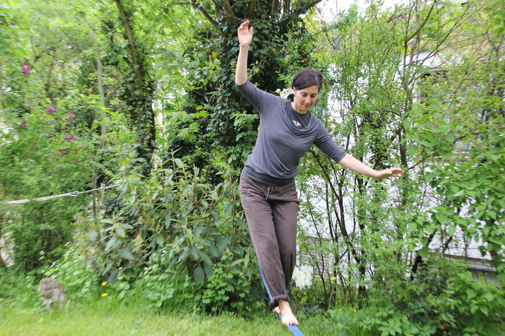 Bild: Abenteuer Wandel, Tiefenökologie, Das Leben ist stets ein Balance-Akt