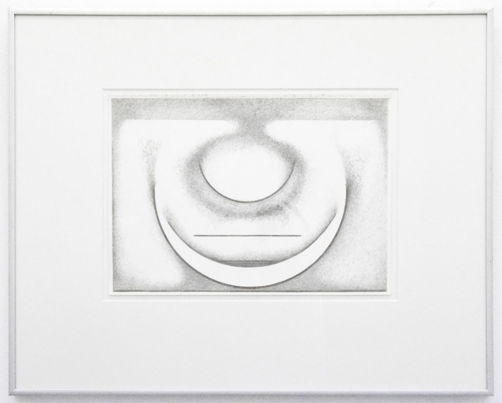 <b>o. T., 19.2.98</b><br> 1998, Silberstift auf Papier, <br>21 x 29,5 cm