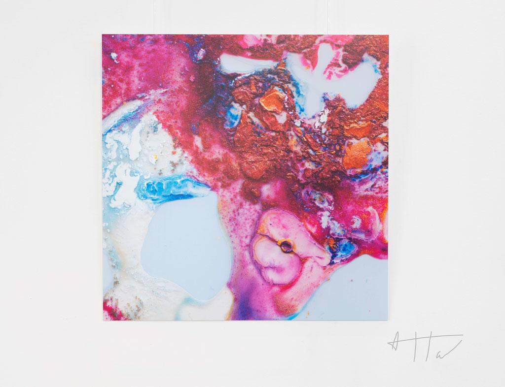 Untitled #14, aluminium dibond, 70 cm x 70 cm, series of 5 prints + 2 AP.