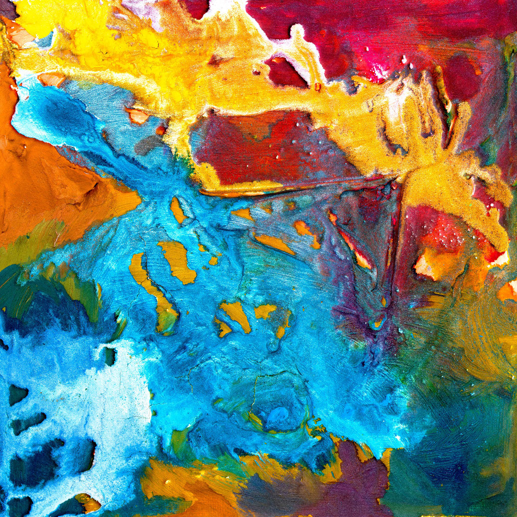 Peinture texturée, canvas print, 70 cm x 70 cm, series of 5 prints + 2 AP. Ready to hang.