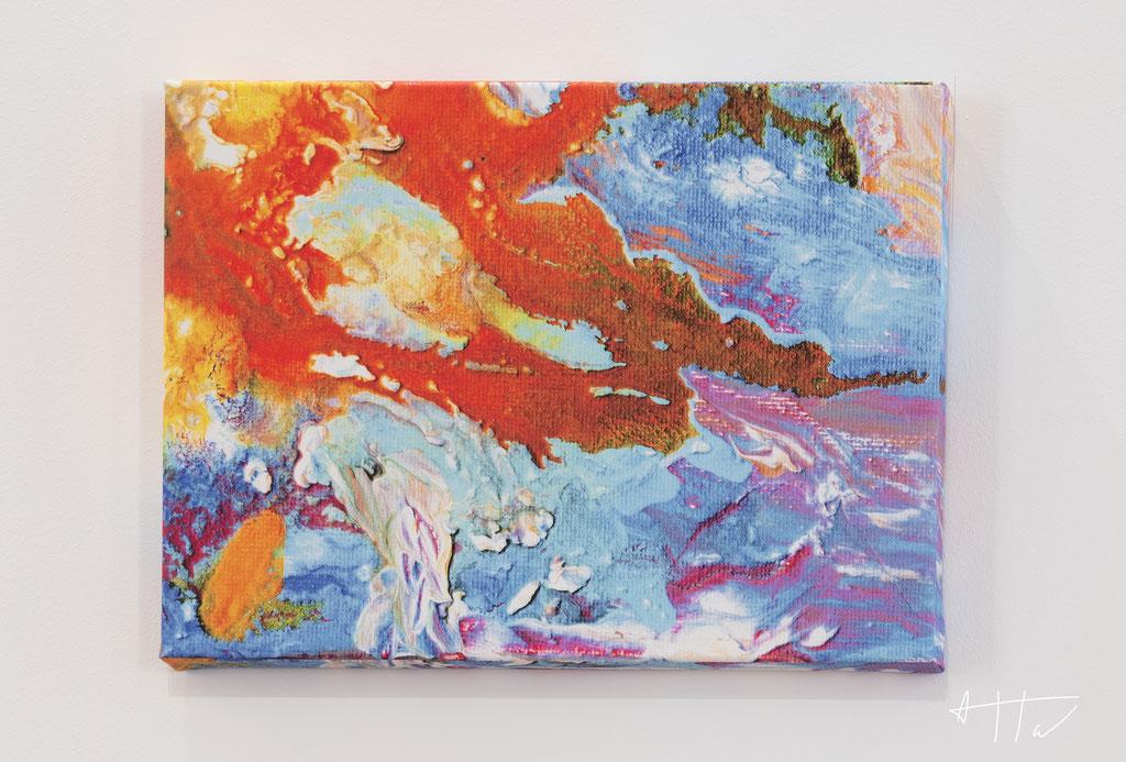 Untitled #3, canvas print, 30 cm x 40 cm x 4 cm, series of 5 prints + 2 AP.