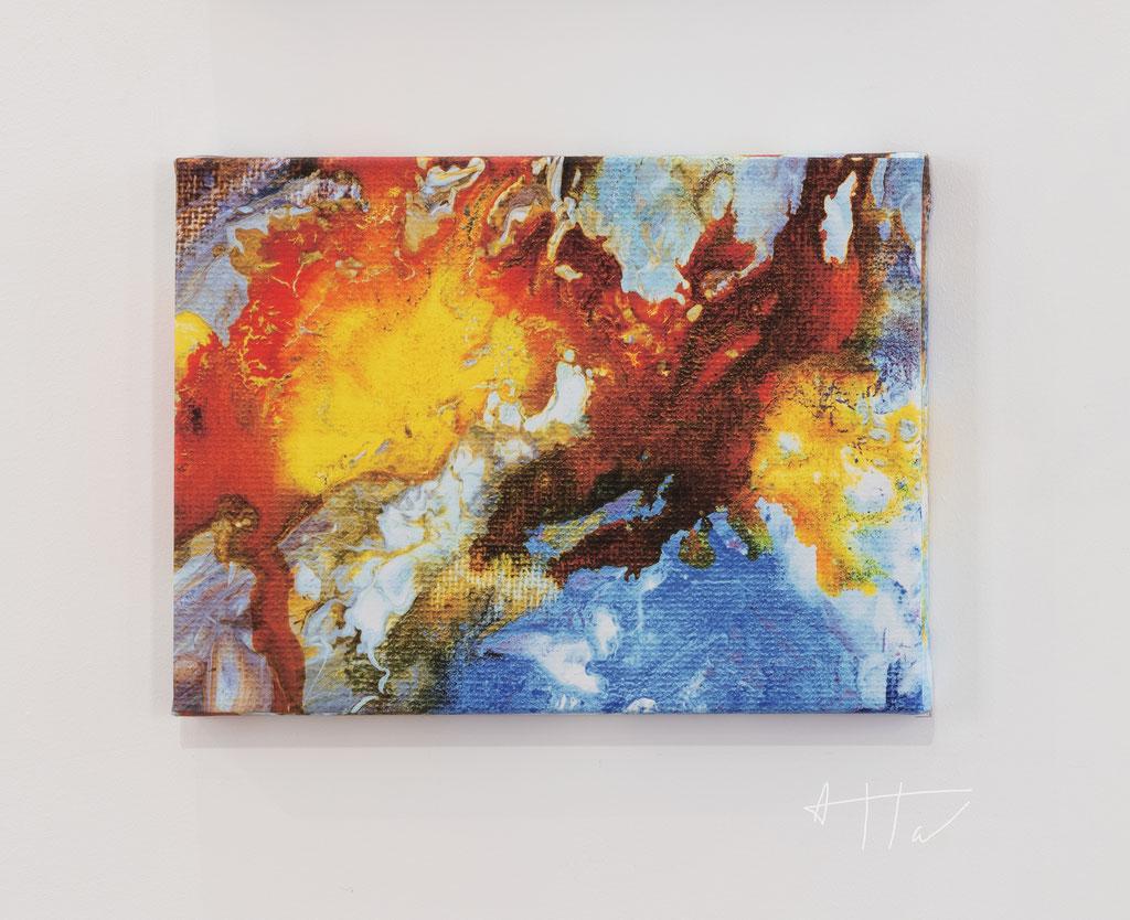 Untitled #4, canvas print, 30 cm x 40 cm x 4 cm, series of 5 prints + 2 AP.