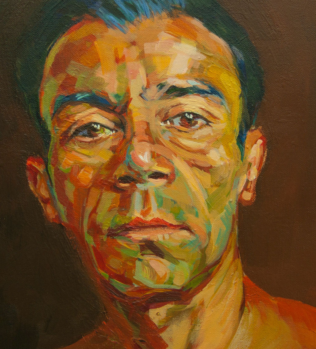Gonzalo Berrueta. Acrylic on canvas . 30 x 30 cm.