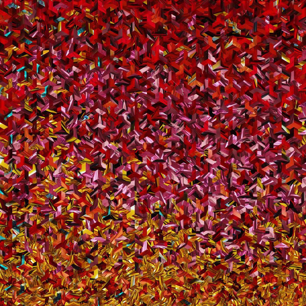 Ybytu Nr. 3 | 1.00 x 1.00 m | Fotocollage digital auf Hahnemühle FineArt Papier | Auflage 5 Stück