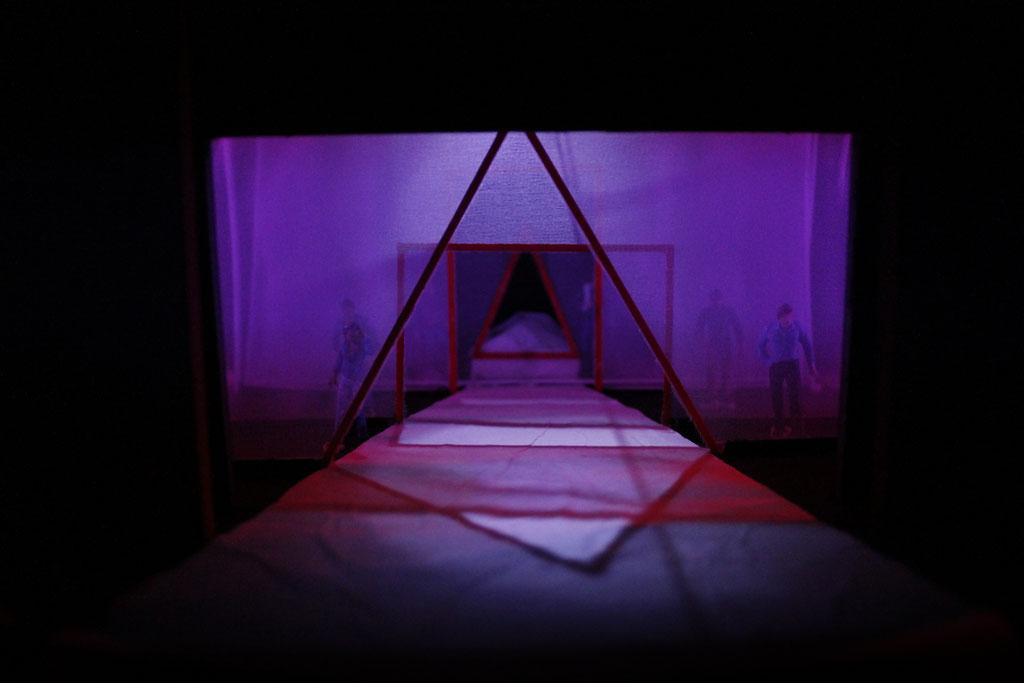 Modellentwurf für 'das Märchen vom letzten Gedanken' Stadttheater Konstanz, Regie: Mario Portmann