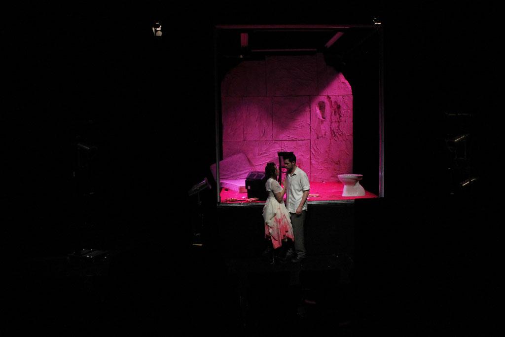 2012 Bühne & Kostüm. 'Sweeney Todd' Regie: Levin Handschuh | Bühne,Kostüm & Licht: Teresa Katharina | August Everding Akademie MÜNCHEN
