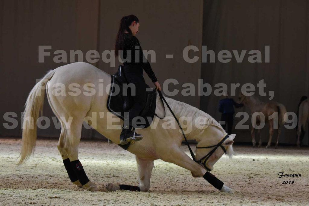 Cheval Passion 2019 - Show des Eleveurs Hall A - Chevaux CREME