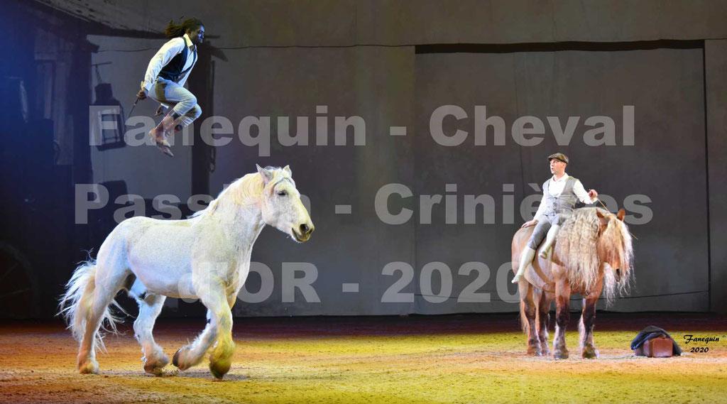 Cheval Passion 2020 - Spectacle des Crinières d'OR - Samuel HAFRAD & Jérôme SEFER