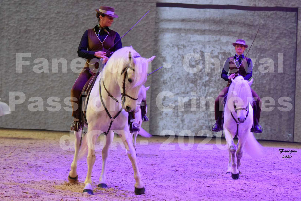 Cheval Passion 2020 - Spectacle des Crinières d'OR - Traditions du Sud