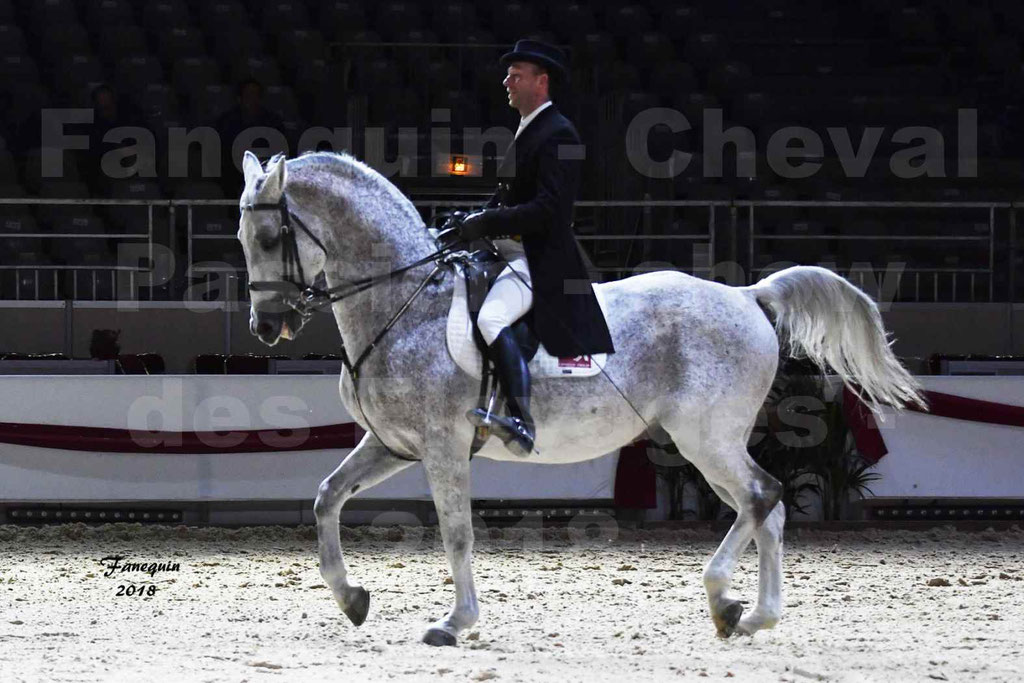 Cheval Passion 2018 - Show des Races - LIPIZZAN