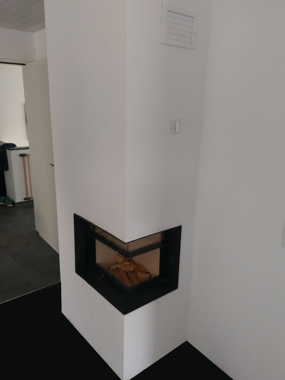 Neuer Cheminée-Ofen