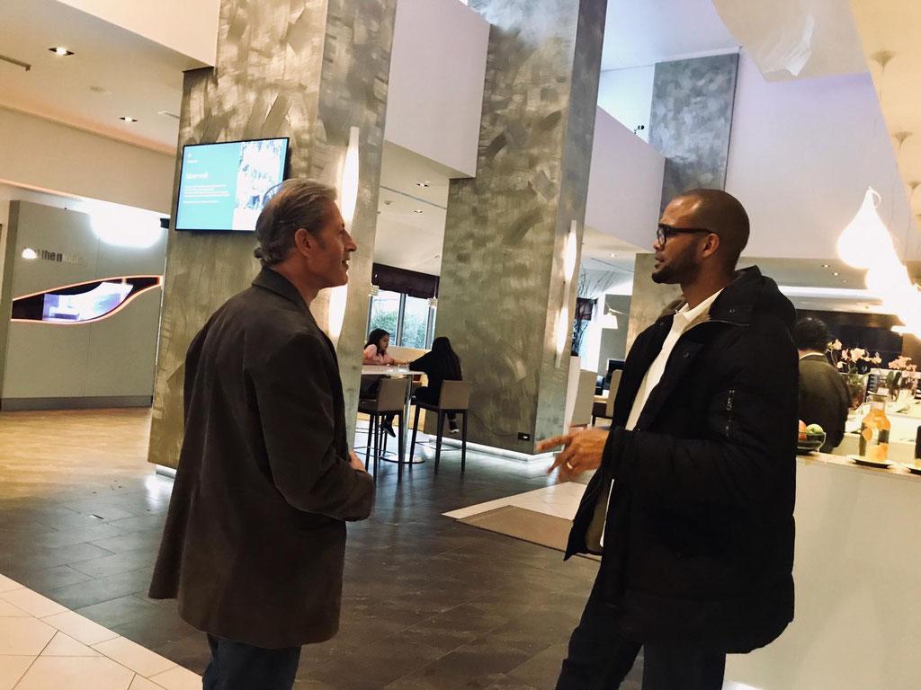 Pablo Hernandez mit Dani Ryter - Box-Ring Zürichsee Horgen