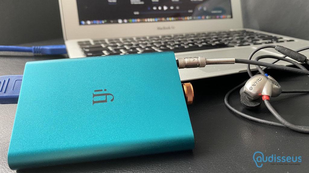 iFi Audio Hip-Dac / Praxistest auf www.audisseus.de / Foto: Fritz I. Schwertfeger / www.audisseus.de