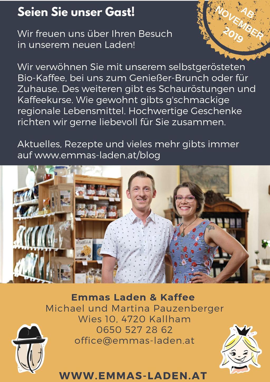 Hier sind die Infos drauf! Fotocredit Foto: Raiffeisenbank Region Grieskirchen