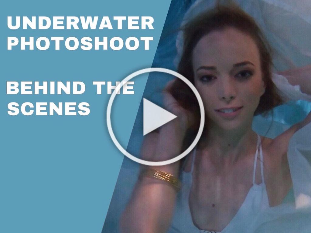 Behind The Scenes Underwater Photoshooting