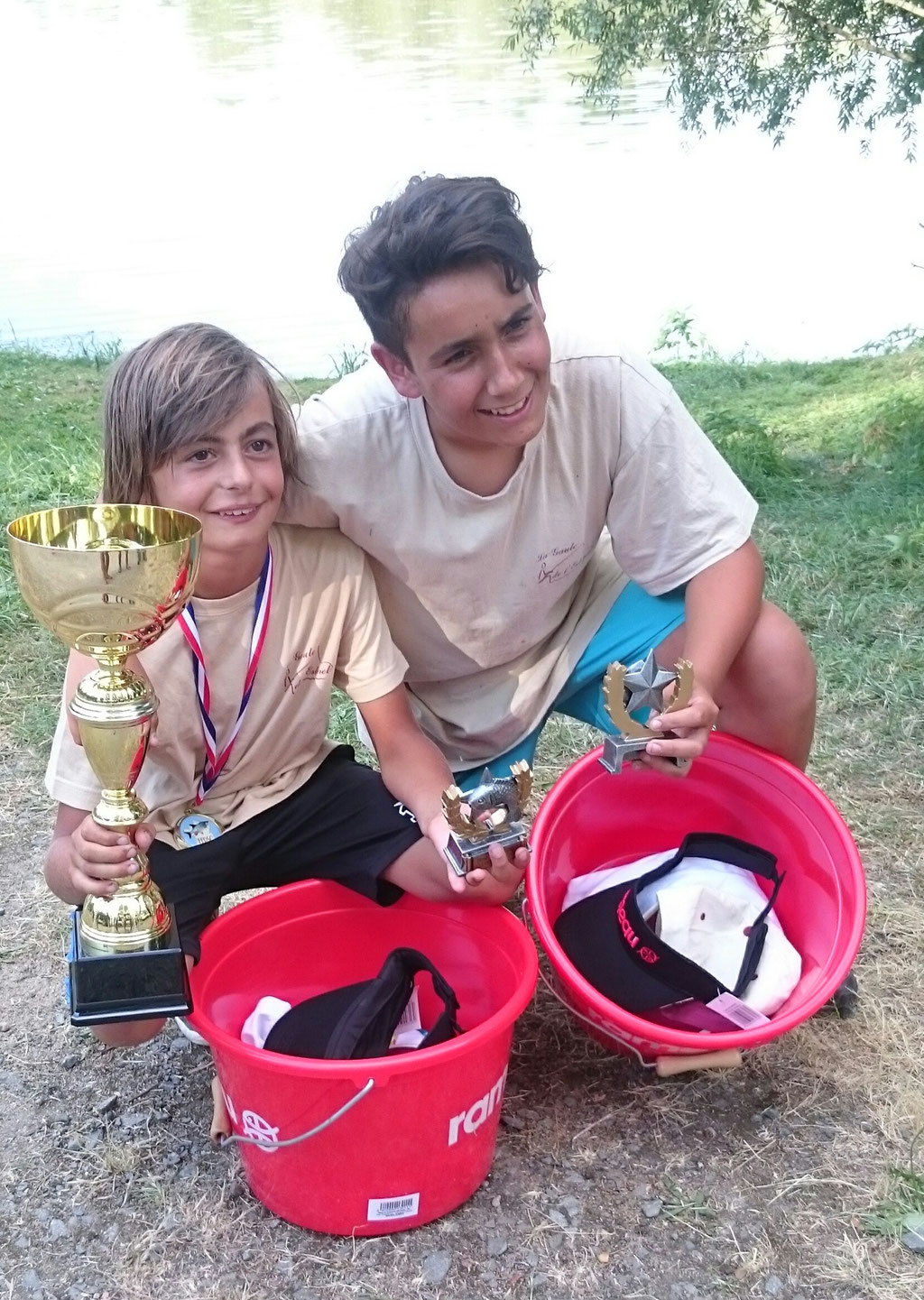 Enzo et Quentin, nos 2 champions !