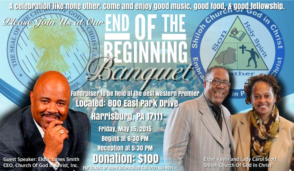 End of the Beginning Fundraiser Banquet