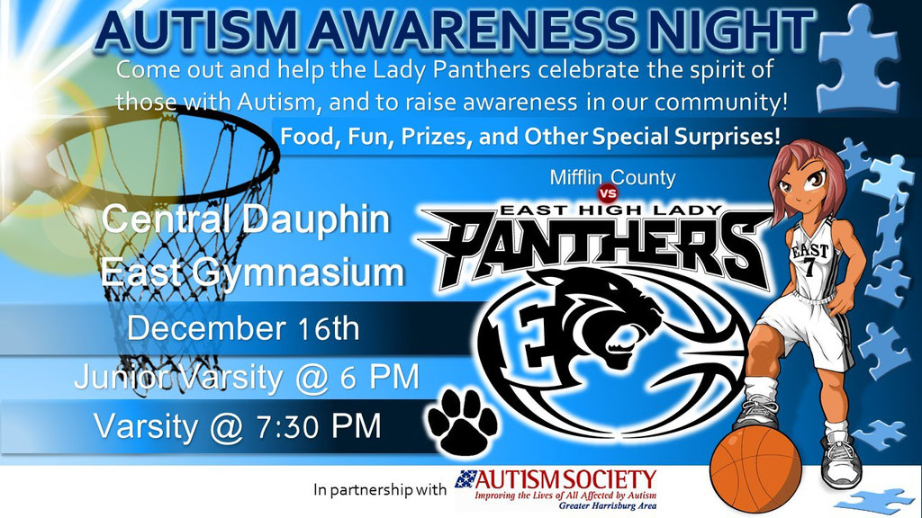 Autism Awareness Event Flyer