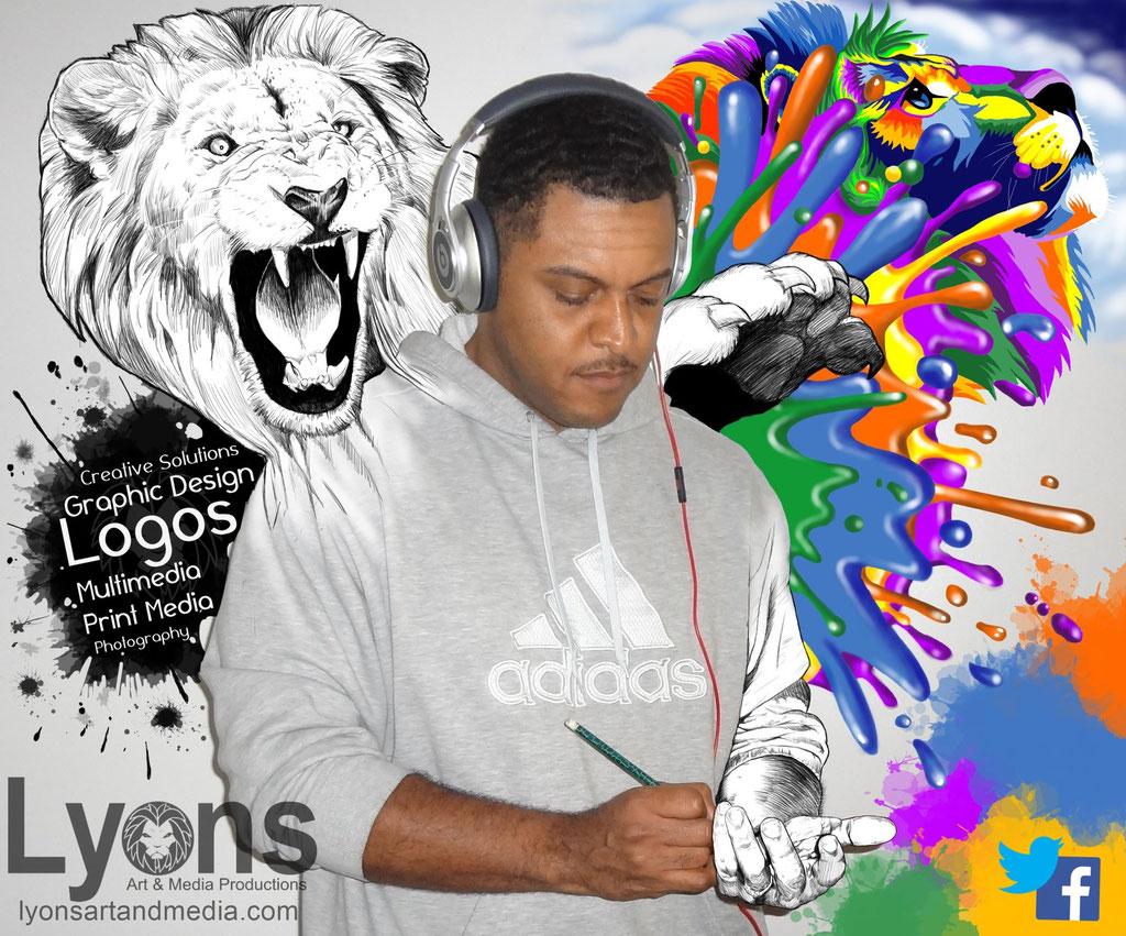 Lyons Art & Media Productions Ad