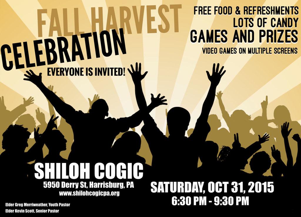 Fall Harvest Celebration Flyer
