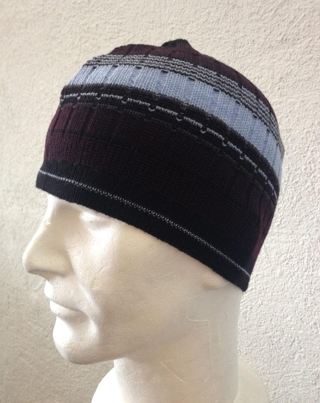 Wollmütze aus 100% Merino, erhältlich bei: www.markant.ch