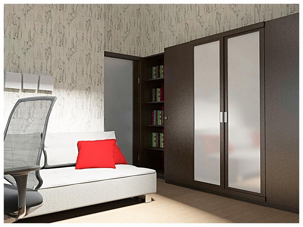 Дизайн интерьеров дома. Комната подростка.