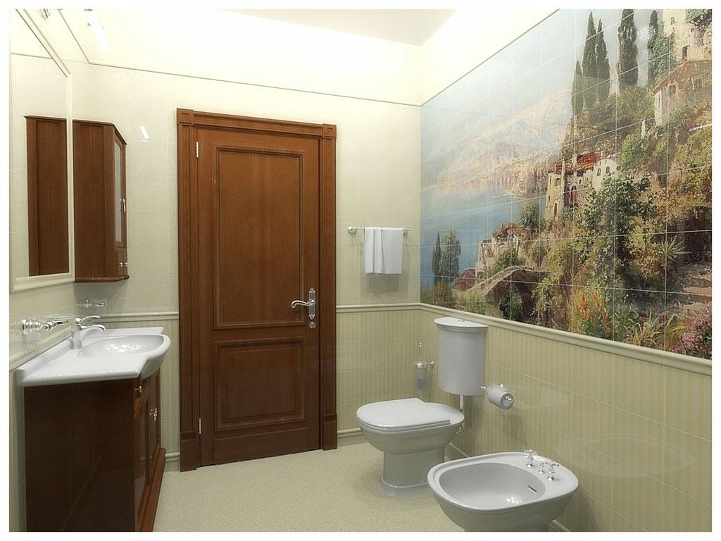 Дизайн интерьеров квартир. Санузел