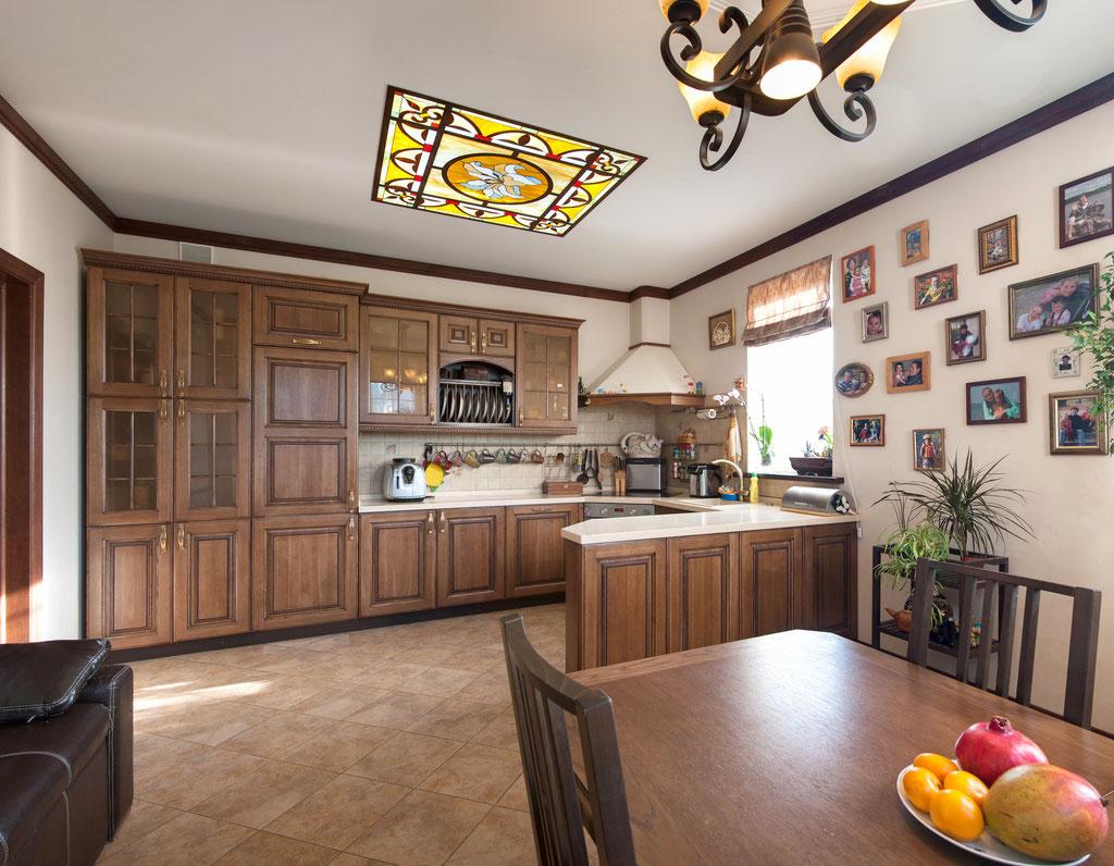 Фотография интерьера кухни