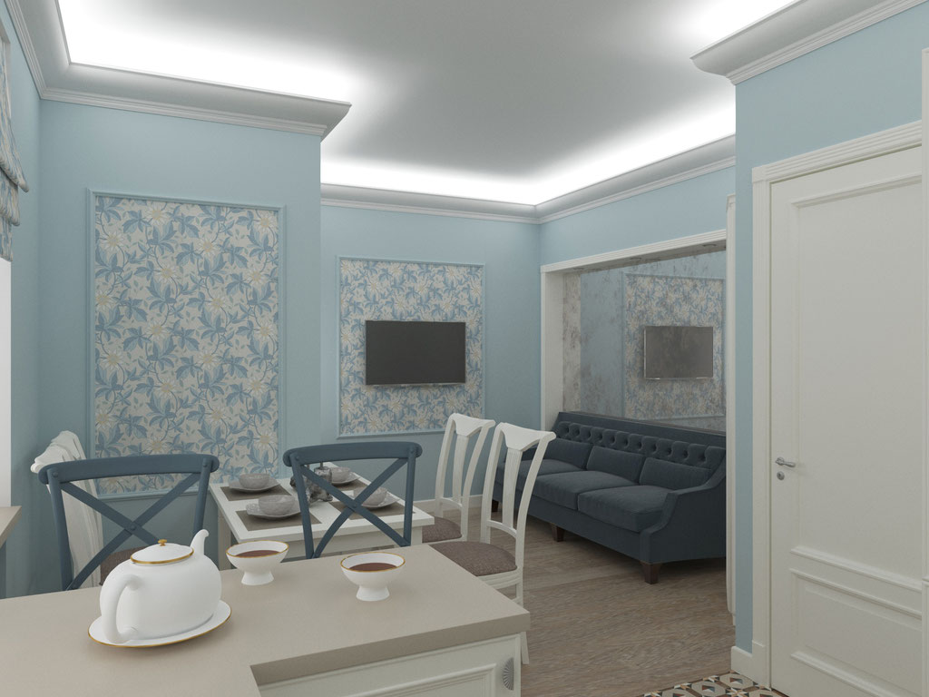 Дизайн интерьера кухни. Вид 2