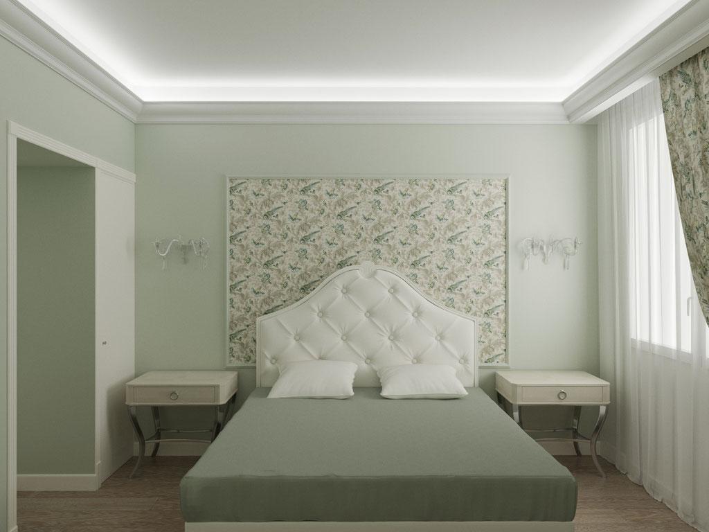 Дизайн интерьера спальни. Вид 2