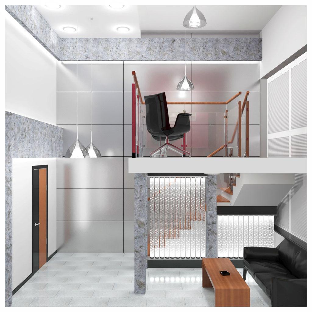 Дизайн интерьера лаунж зоны