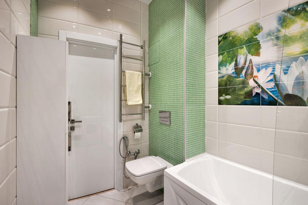 Дизайн интерьеров квартиры-студии, вид 8