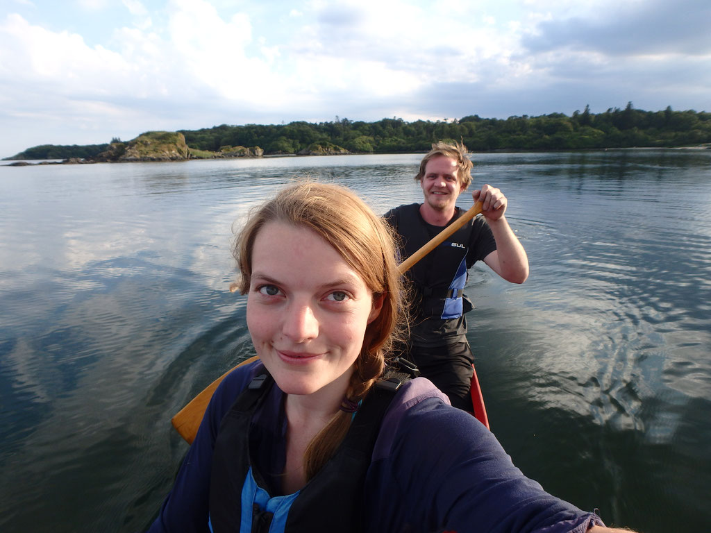 Canoeing, kayaking, The Dower House, Isle of Islay, Scotland