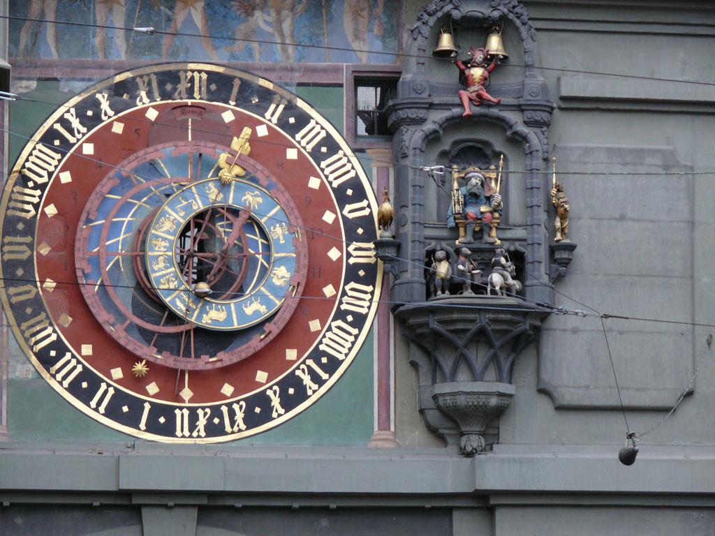 Rathaus-Uhr von Bern