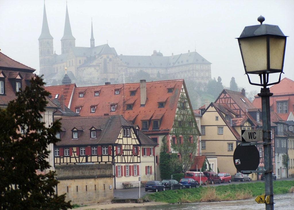 Bamberg im Nebel