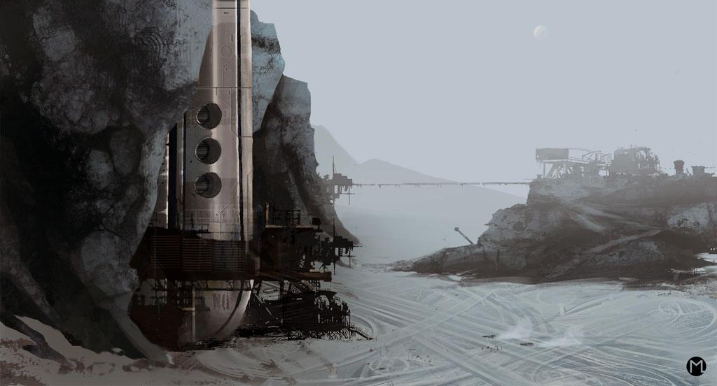 Concept Art - Illustration - Sternenbasis