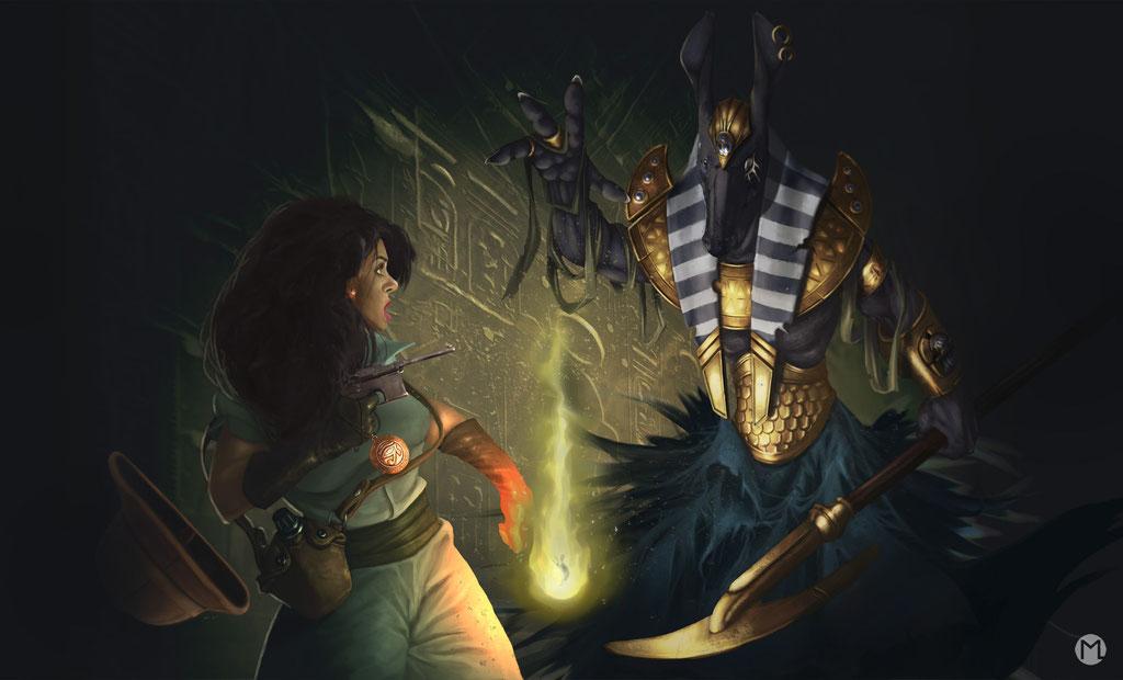 Artwork- Illustration - The Eye of Ra