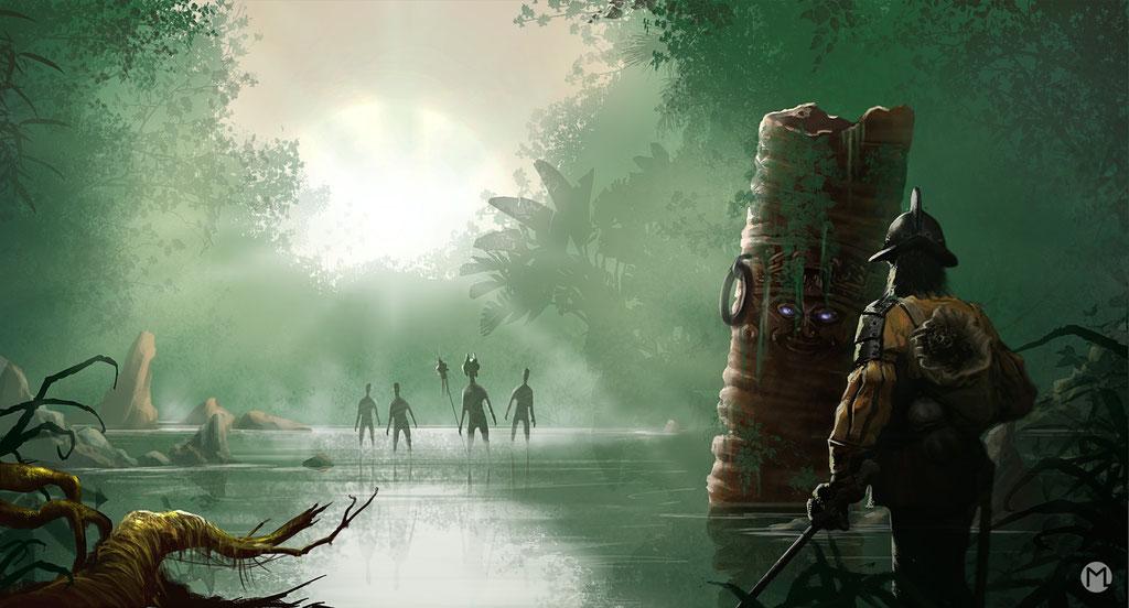 Concept Art - Illustration - Konquistador