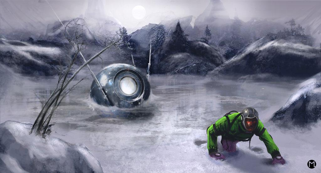 Concept Art - Illustration - Sputnik No. 23