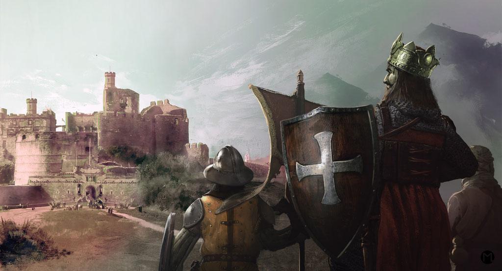 Concept Art - Illustration - The King Returns