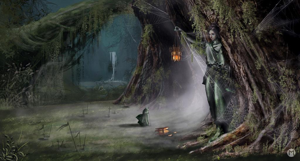 Concept Art - Illustration - Magic Forest