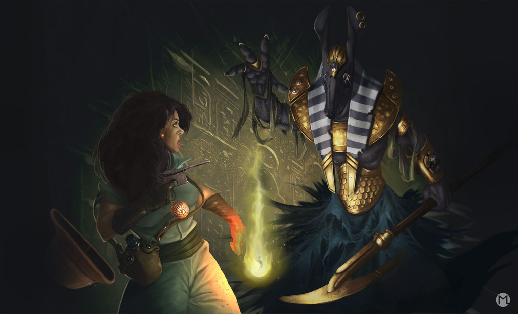 Artwork - Illustration - Das Auge des Ra