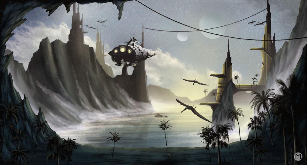 Concept Art - Illustration - Science Fiction